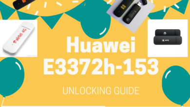 Photo of How to Unlock Huawei E3372h-153 4G LTE USB modem
