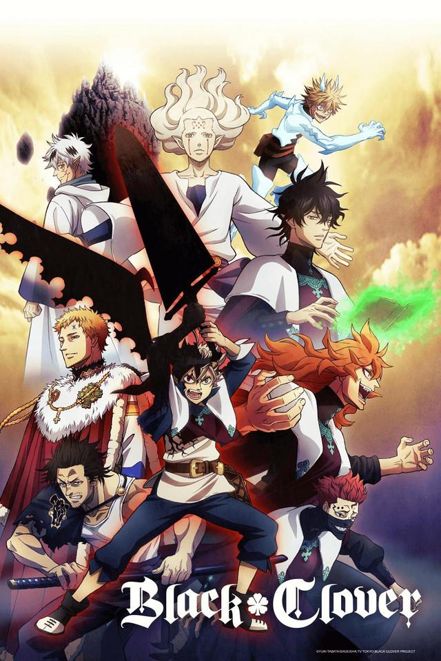 Black Clover: TOP 10 ongoing Animes to watch in 2019