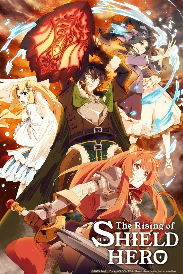 The rising of the shield hero: top 5 transferred to another world anime to watch in 2019