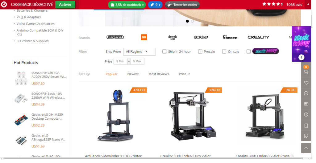 Save money by shopping Tech products from these 5 online sites: Banggood