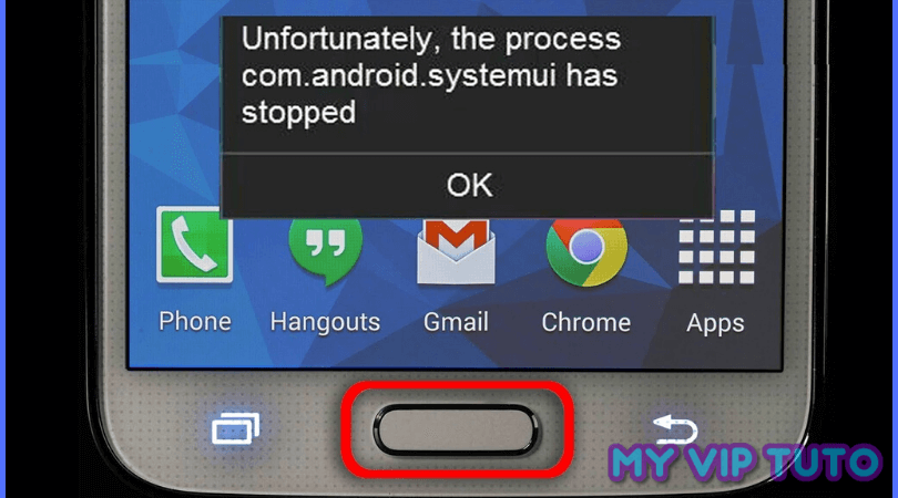 """""""com.android.systemui has stopped"""""""