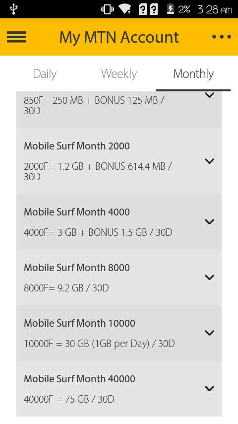 How to get a data bonus when you purchase an MTN data bundle.
