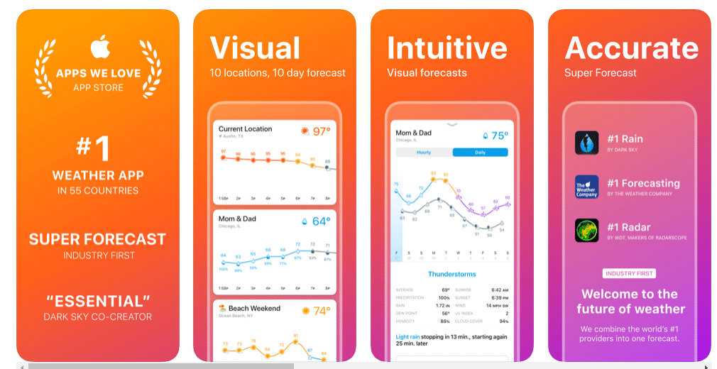 Weather Line: 7 paid iPhone apps free to download