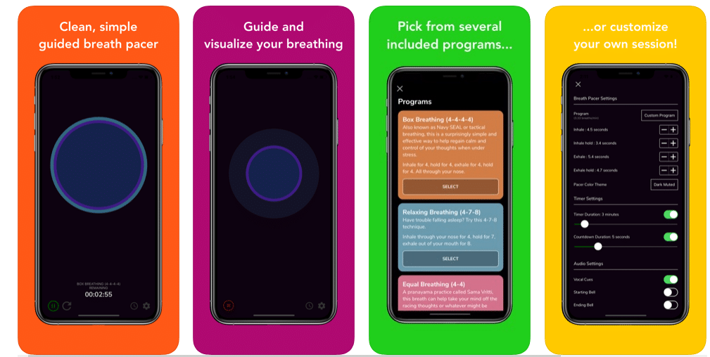 Awesome Breathing, 3 paid iPhone apps free