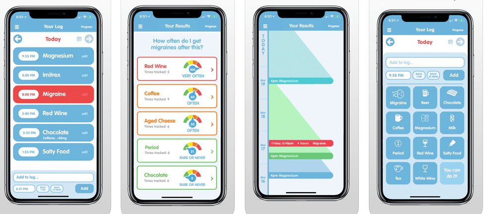 Migraine Insight: Tracker, 3 paid iPhone apps free