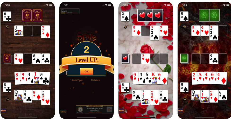Spite & Malice HD: paid iPhone apps now free