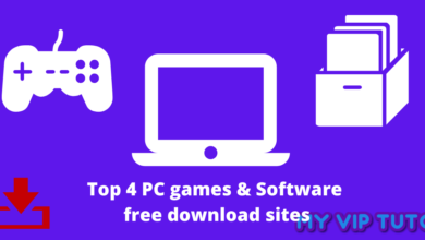Photo of Top 4 PC games & Software free download sites