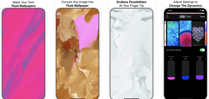 Fluid Wallpaper maker - iPhone paid apps free