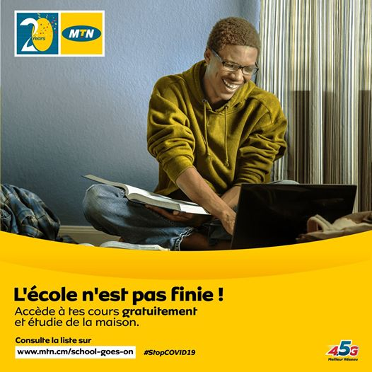 free online studies with MTN Cameroon