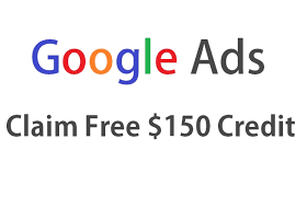 get $150 Google Ads credits for free