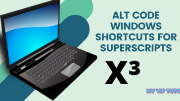 Windows Keyboard Shortcuts for Superscripts