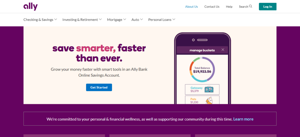 Ally Bank: best crypto-friendly banks in the US
