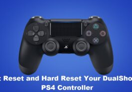 Soft Reset and Hard Reset Your DualShock PS4 Controller